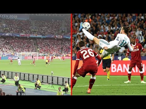 REAL MADRID VS LIVERPOOL & GARETH BALE BICYCLE KICK GOAL!!! | CHAMPIONS LEAGUE FINAL 2018