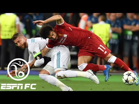Was Sergio Ramos' Champions League final foul on Mohamed Salah dirty? | ESPN FC