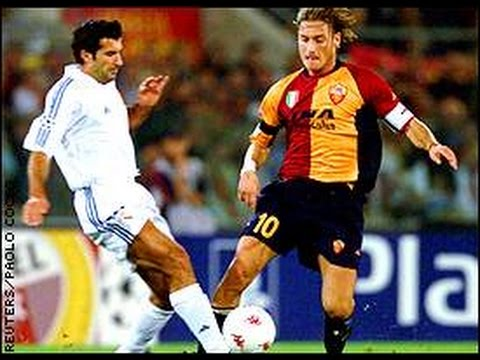 Real Madrid 1-1 AS Roma 2001/02 Champions League (Highlights)