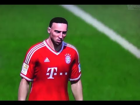 FIFA 14: Next Gen Gameplay HD – Bayern Munich vs Dortmund – FULL MATCH!