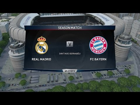 (Xbox One) FIFA 15 | Real Madrid vs Bayern Munich – Full Online Co-Op Seasons  Gameplay (1080p HD)