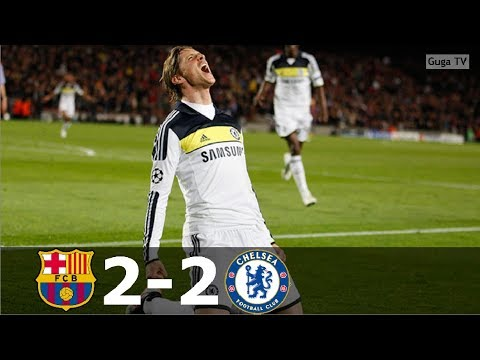 Barcelona vs Chelsea 2-2 – UCL 2011/2012 – Highlights (English Commentary) HD