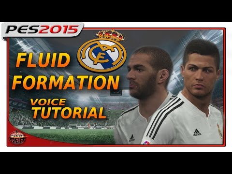 PES 2015: FLUID FORMATION TUTORIAL – REAL MADRID