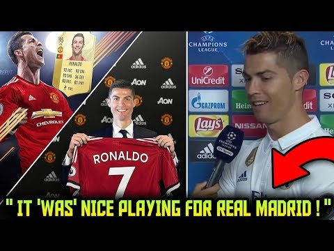 INSANE Transfer News ! CRISTIANO RONALDO To MAN UTD | BALE & DRAXLER On The Move