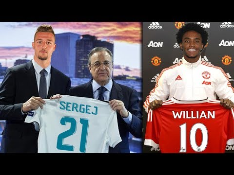 *CONFIRMED* Transfer News & Rumours | Summer Transfer Targets 2018 ft Milinkovic-Savic Willian Leno