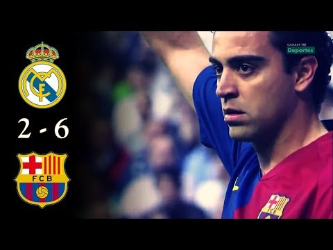Real Madrid 2 vs Barcelona 6 (2009) Resumen Canal +