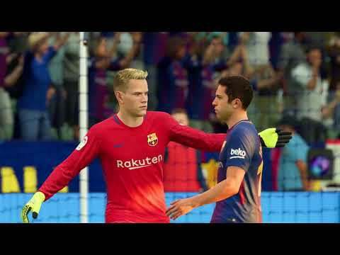 FIFA 18 – Real Madrid vs FC Barcelona Full Match | PS4 Pro (1080p 60fps)