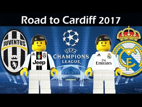 Road to Cardiff • Champions League Final 2017 • Juventus vs Real Madrid • Lego Football Film
