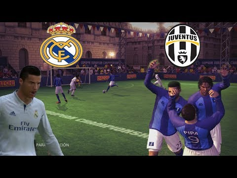 FINAL DE LA CHAMPIONS – REAL MADRID VS JUVENTUS – FUTBOL SALA – FIFA STREET