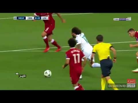final liga champion 2018 PENAMPILAN Mohamed Salah sebelum cedera bahu