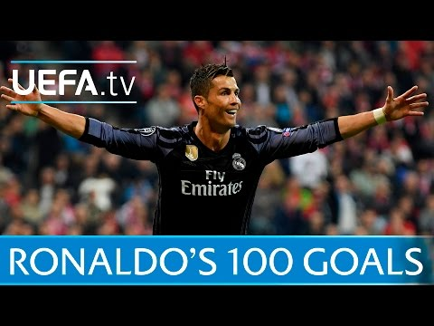 Cristiano Ronaldo – Watch all of his 100 European goals