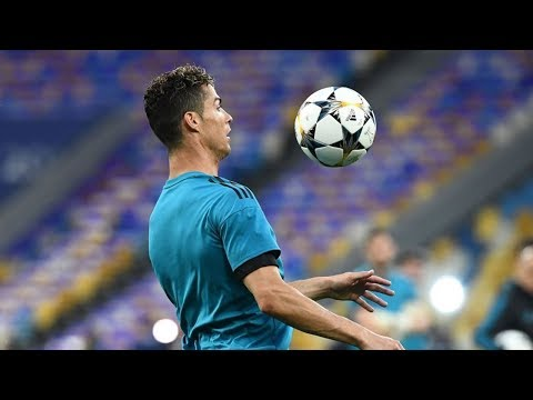 Cristiano Ronaldo Training before the UEFA Champions League Final 2018 | Real Madrid Vs Liverpool