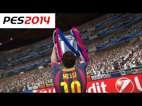 PES 2014 – UEFA Champions League Final – FC Barcelona vs Real Madrid – Penalty Shootout
