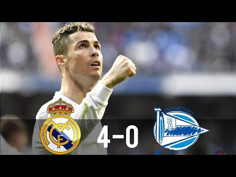 Real Madrid vs Alaves 4-0 – All Goals & Extended Highlights – La Liga 24/02/2018