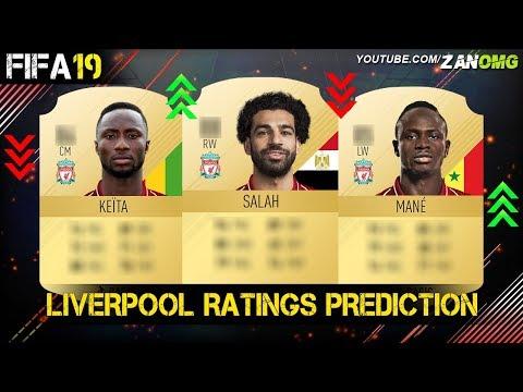 FIFA 19 | LIVERPOOL PLAYERS RATING PREDICTION!! | FT. SALAH, MANE, FIRMINO…etc