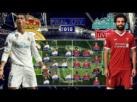 FINAL!! PREDICTED LINEUP REAL MADRID VS LIVERPOOL UEFA CHAMPIONS LEAGUE KYIV 2018