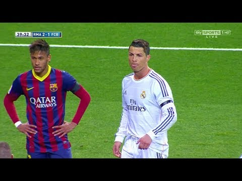 Saat Ronaldo Membuat Neymar Marah ● Real Madrid vs Barcelona