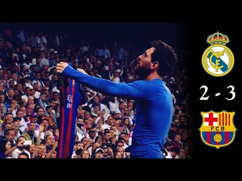 Real Madrid 2 vs Barcelona 3 (2017) • Resumen Canal + •