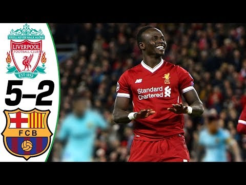 Liverpool vs Barcelona 5-2 – Goals and Highlights Résumé & Goles (Last 3 Matches) HD