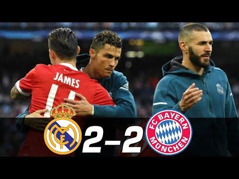 Real Madrid vs Bayern Munich 2-2 – All Goals & Highlights RÉSUMÉ & GOLES 01.05.2018 HD