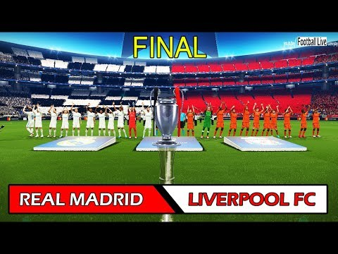 PES 2018 | REAL MADRID vs LIVERPOOL FC | UEFA Champions League Final | Full Match | Gameplay PC