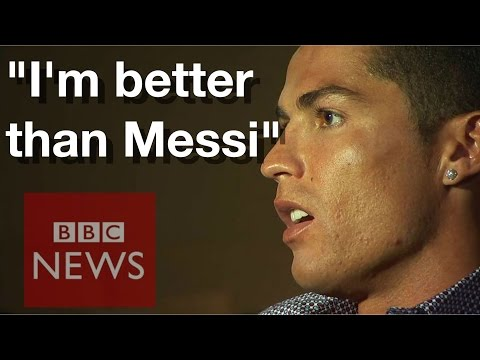 Cristiano Ronaldo: I am better than Lionel Messi  – BBC News