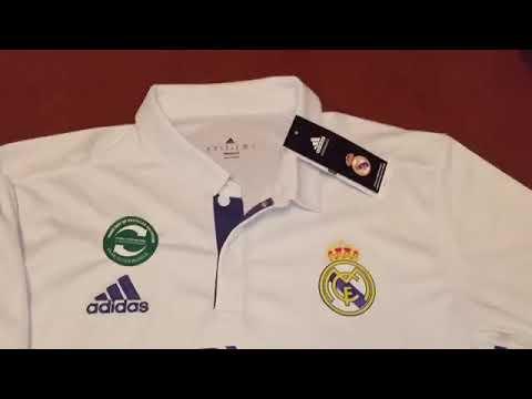 Real Madrid Hemmatröja 2016/17 |Fotbollbutik.com Billiga Fotbollströjor Recension