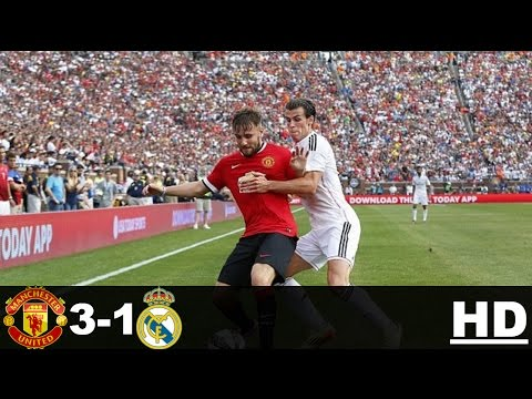 Real Madrid vs Manchester United 1-3 – All Goals & Extended Highlights – Champions Cup 02/08/2014 HD