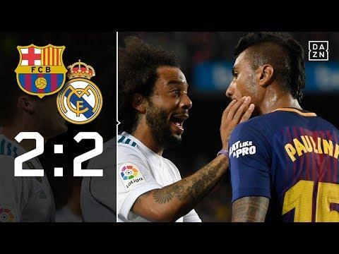 Tritte, Tore und Andres Iniesta: FC Barcelona – Real Madrid 2:2 | Highlights | LaLiga | DAZN