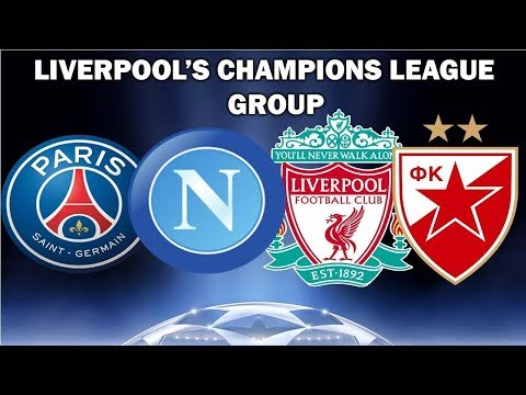 Liverpool Champions League draw Full fixture list, key dates, opponents in focus and betting odds