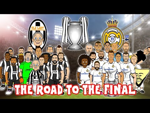 🛣️⚽THE ROAD TO CARDIFF – 2017 CHAMPIONS LEAGUE FINAL!⚽🛣️ Juventus vs Real Madrid 1-4