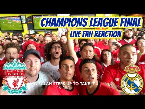 Americans Heartbroken For Mo Salah – Liverpool 1-3 Real Madrid LIVE Reaction