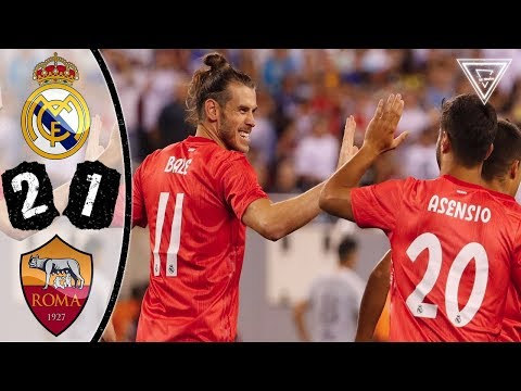 Real Madrid vs Roma 2-1 All Goals & Highlights 🔥08/08/2018