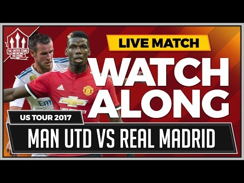 REAL MADRID vs MANCHESTER UNITED Super Cup Live Stream Watchalong