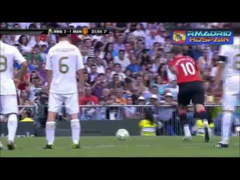 Real Madrid 3-2 Manchester United ᴴᴰ Legend Match 03-06-2012