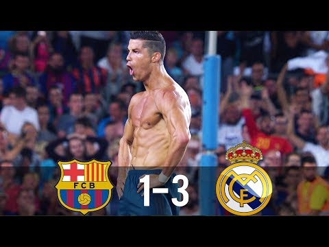 Barcelona vs Real Madrid 1-3 – All Goals & Extended Highlights – SSC 13/08/2017 HD