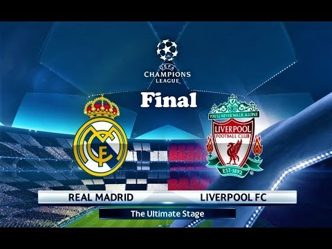 Real Madrid vs Liverpool | Final UEFA Champions League 2018 | PES 2018 Gameplay HD