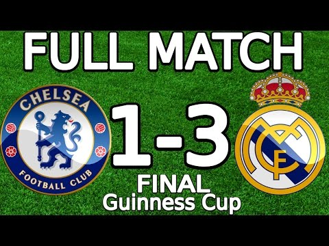 Chelsea FC VS Real Madrid 1-3 FULL MATCH 07.08.2013 HD (Guinness Cup – FINAL) (ENGLISH COMMENTARY)