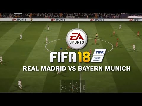FIFA 18 | Real Madrid vs Bayern Munich | Full Gameplay (PS4/XBOX ONE)