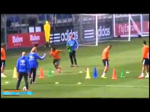 Esercitazioni di psicocinetica del Real Madrid di Carlo Ancelotti – UP COACH