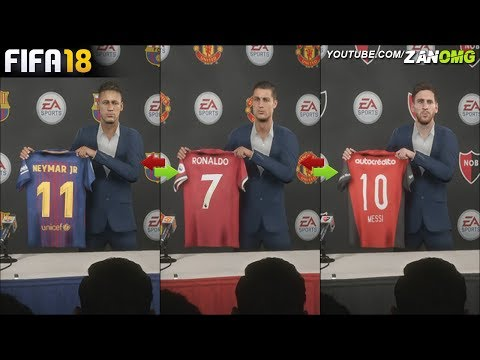 FIFA 18 | SIGNING PLAYERS TO THEIR FORMER CLUBS IN CAREER MODE!! | FT. MESSI, RONALDO, NEYMAR…etc