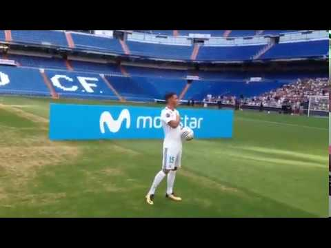 Real Madrid's new signing Theo Hernandez fails at kick-ups!!