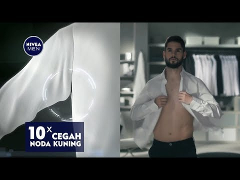 Iklan NIVEA MEN Black & White Deodorant with REAL MADRID – #RealMen 30sec (2017)