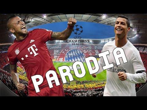 Cancion Bayern Munich vs Real Madrid 1-2 (Parodia Shape of You – Ed Sheeran)