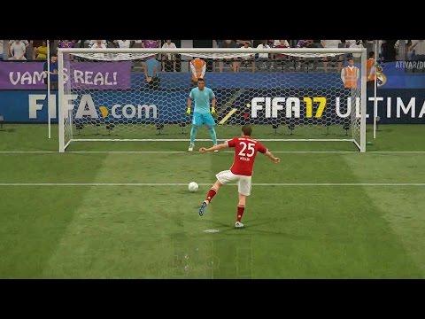 FIFA 17 – QUE PÊNALTI É ESSE ??? – Bayern Munich vs Real Madrid (Gameplay PS4/XONE/PC)