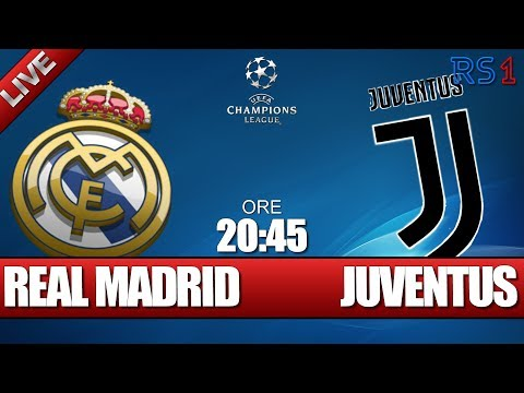REAL MADRID – JUVENTUS – CHAMPIONS LEAGUE – 11-04-2018 – Telecronaca live in diretta streaming