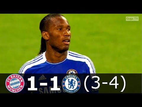 Bayern Munch vs Chelsea  1-1 (pen 3-4) – UCL Final 2012 – Highlights (English Commentary) HD