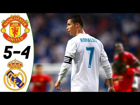 Manchester United vs Real Madrid 5:4 – All Goals & Highlights RESUMEN & GOLES (Last 3 Matches) HD