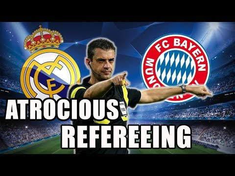 Real Madrid vs Bayern Munich – Refereeing Mistakes – Champions League 2016-2017