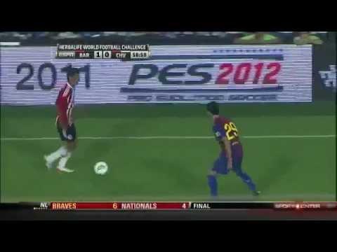 Chivas Guadalajara vs Barcelona 4-1 HD 720p GOLAZOS 08/03/11